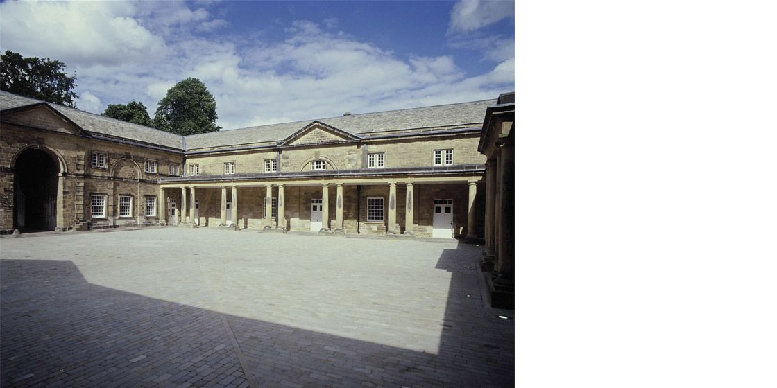 Harewood House Stables Courtyard Visitors Centre Yorkshire Harewood House Stables House