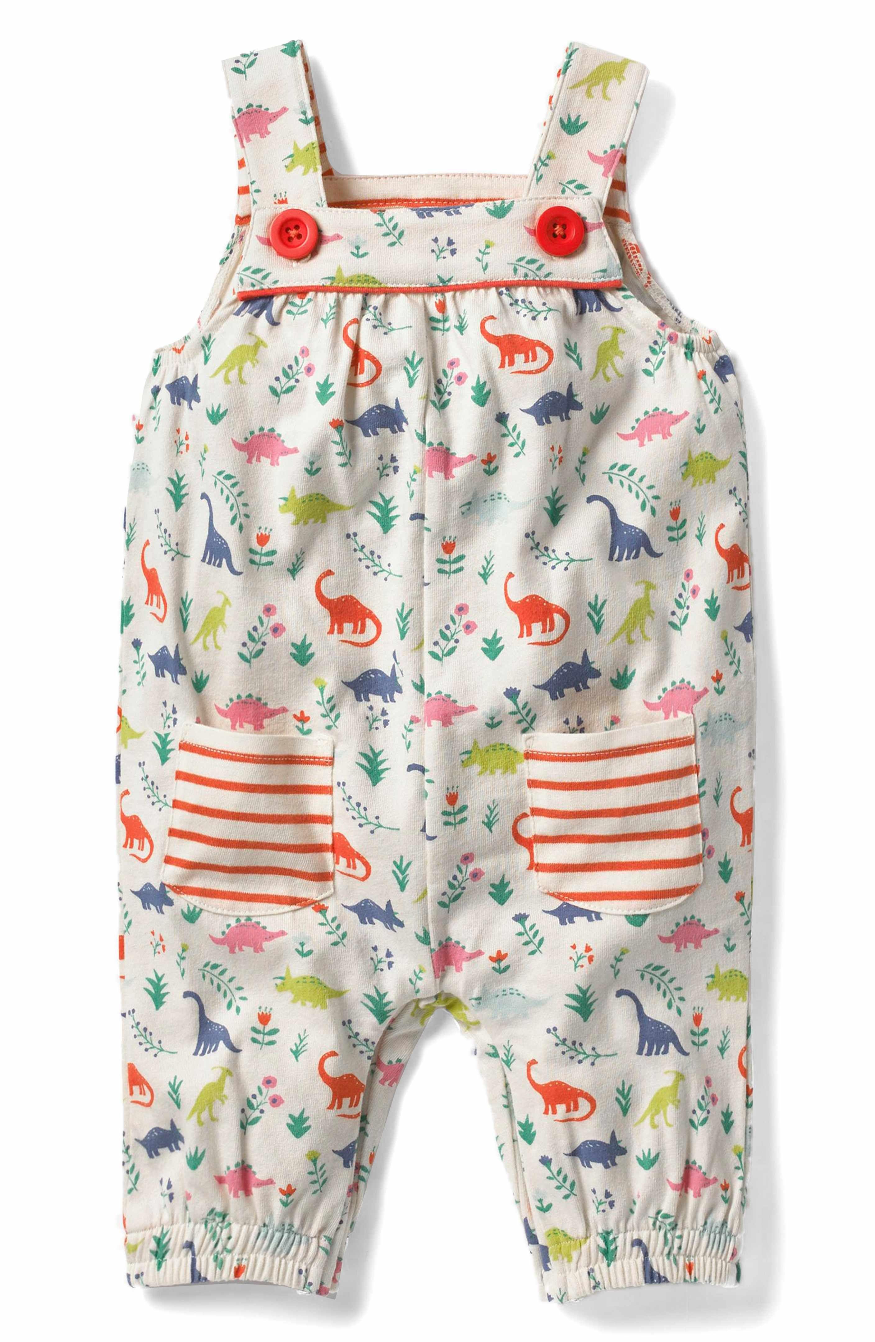 6dfeb933d Main Image - Mini Boden Jersey Overalls (Baby Girls   Toddler Girls ...