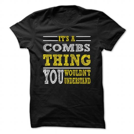 Is COMBS Thing ... 099 Cool Name Shirt ! T Shirts, Hoodies Sweatshirts