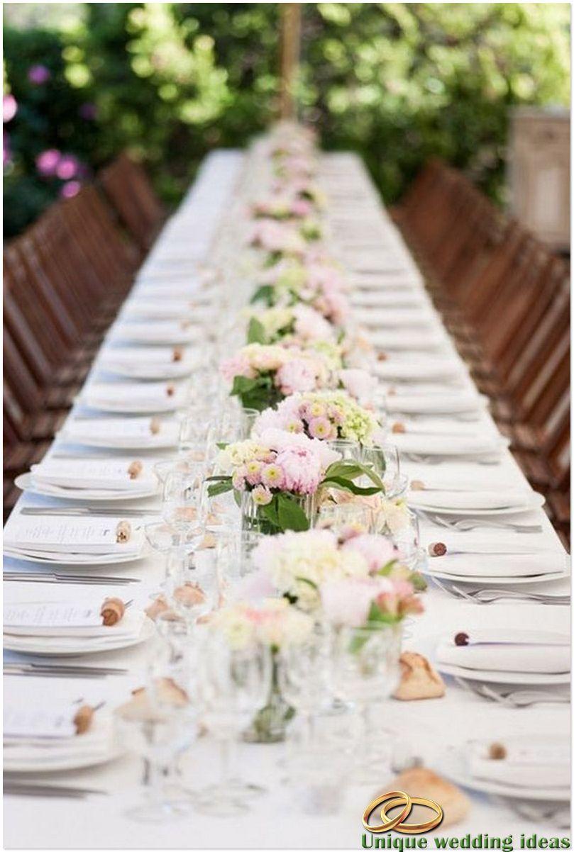 Top 35 Summer Wedding Table   Wedding   Pinterest   Summer weddings ...