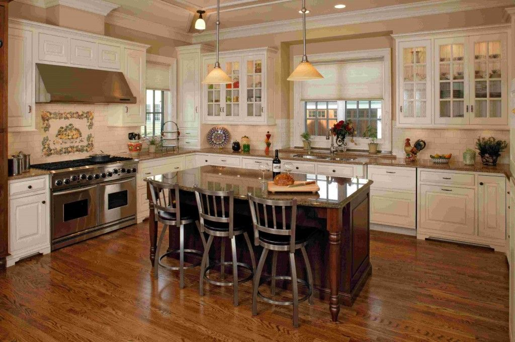 Kitchen Island Stools With Backs Are Very Comfortable  Wooden