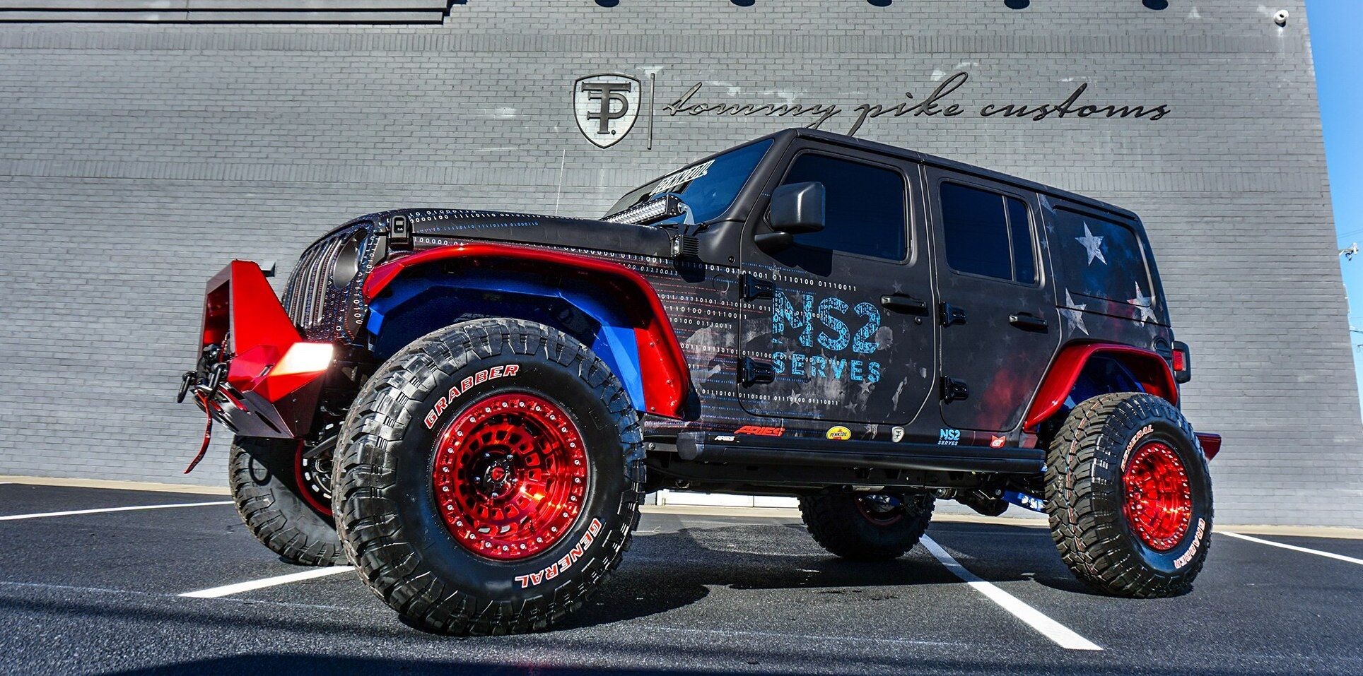 This Rowdy Jeep Wrangler Rubicon Continues Auction To Benefit From
