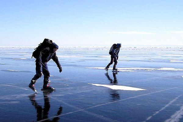 Путешествие на Байкал зимой: Байкальский лед, зимняя ...