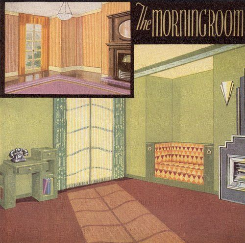 1930s house interiors. Color By Decade  The 1930s Therapy Apartment First in a and therapy