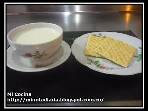 COLADA DE MAICENA - YouTube