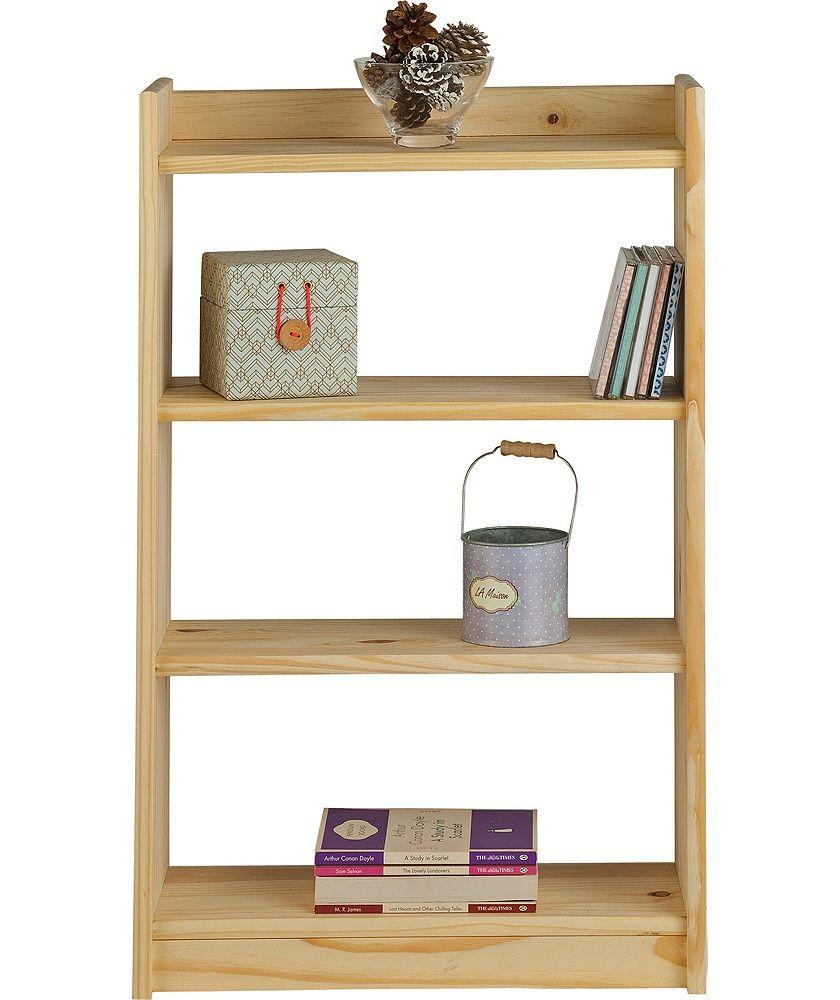 Buy Home Light Duty 4 Shelf Storage Unit Solid