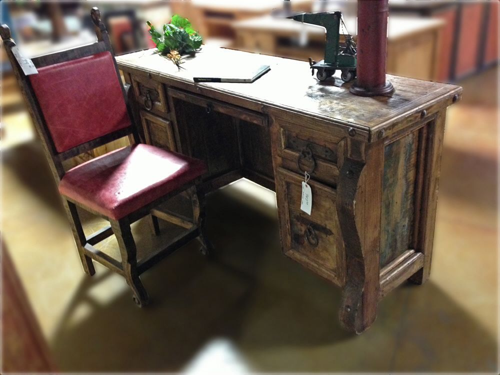 Office Desk   Rustic World Imports Oklahoma City Oklahoma