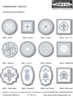 Exterior House Medallions