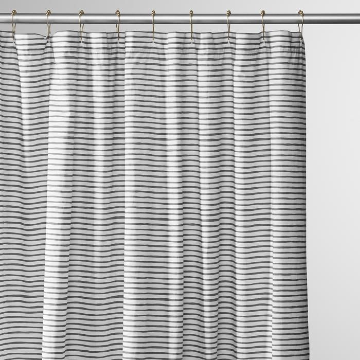 Painterly Stripe Shower Curtain #schoolhouseelectric