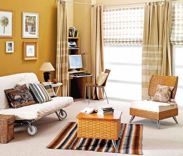 idee-für-feng-shui-einrichtung-im-wohnzimmer - Die Wohnung nach - kreative ideen wohnzimmer