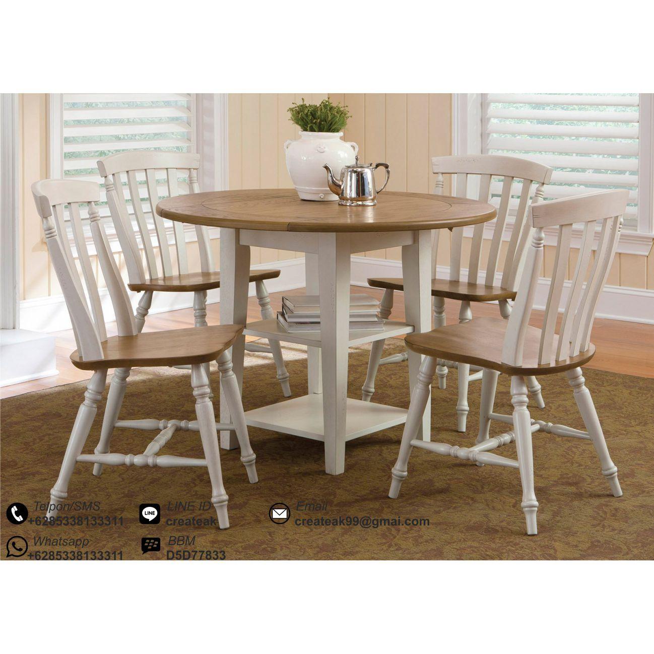 jual kursi makan model vintage | Dining Chair | Pinterest | Shabby ...