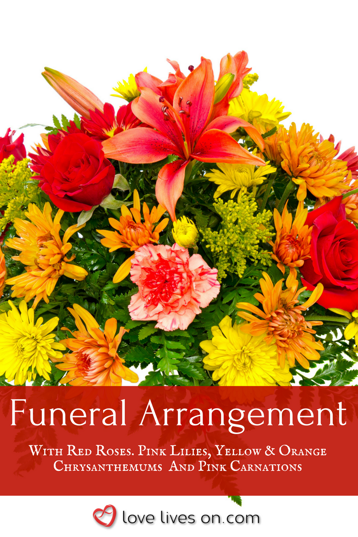 10 Best Funeral Flowers Funeral Flower Arrangements Pinterest
