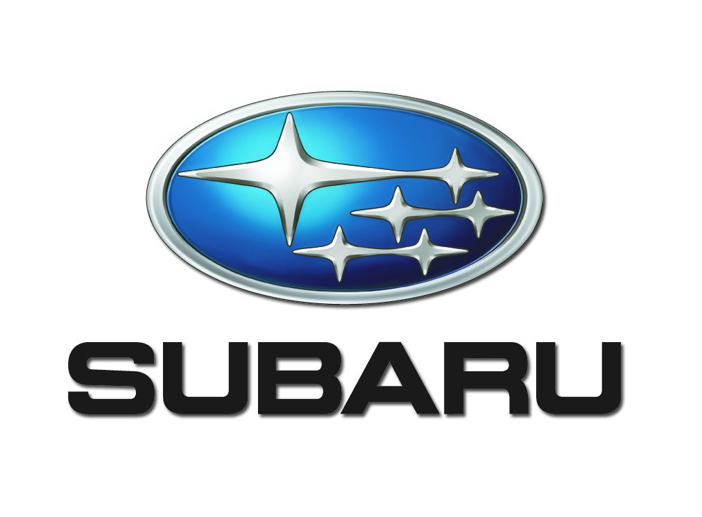 large subaru car logo zero to 60 times