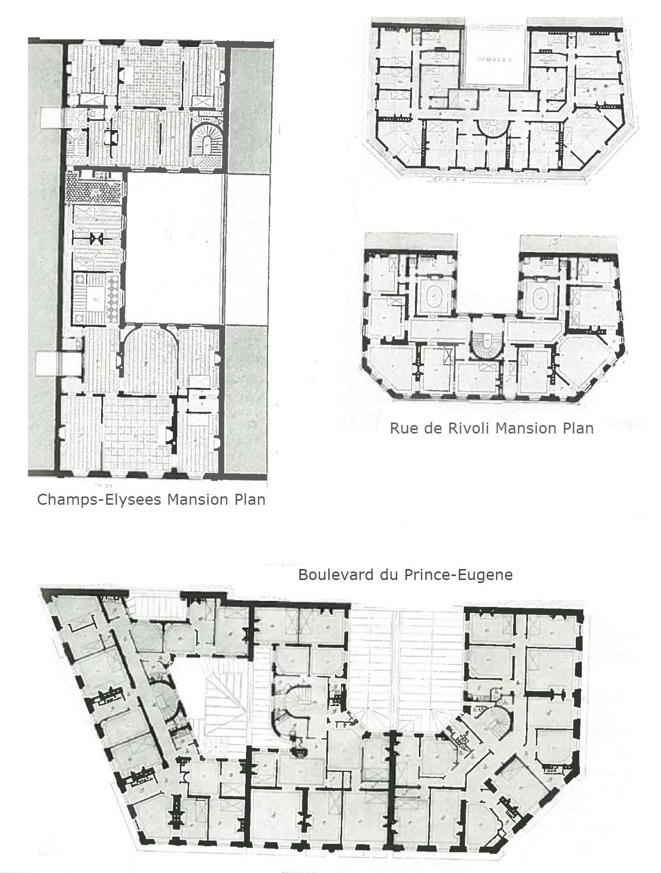 Mansion Block Floor Plans Small House Design Simple Floor Plans