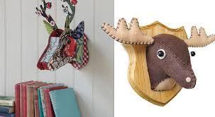 cabezas de ciervo decoracion - Buscar con Google