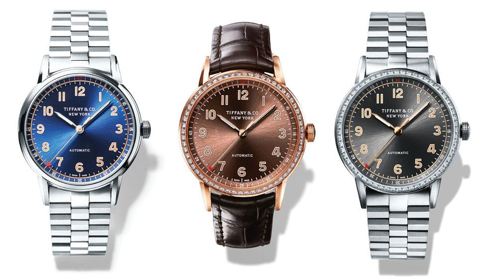 8e5a8acc5c2 Tiffany CT60 Watch Collection
