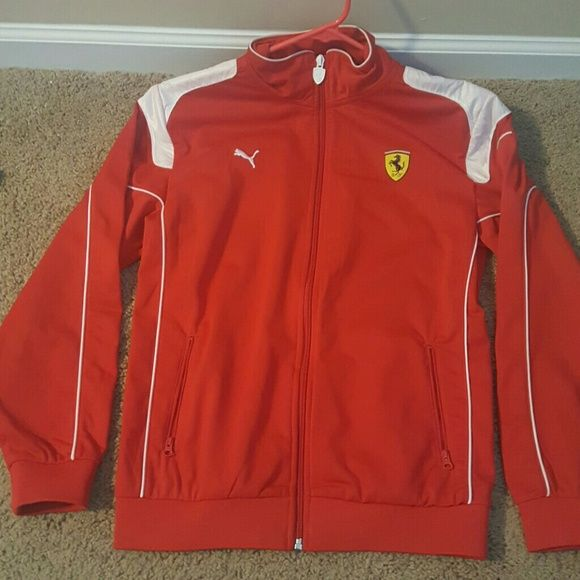Ferrari Jacket Ferrari Red Large Boy Jacket Puma Jackets & Coats
