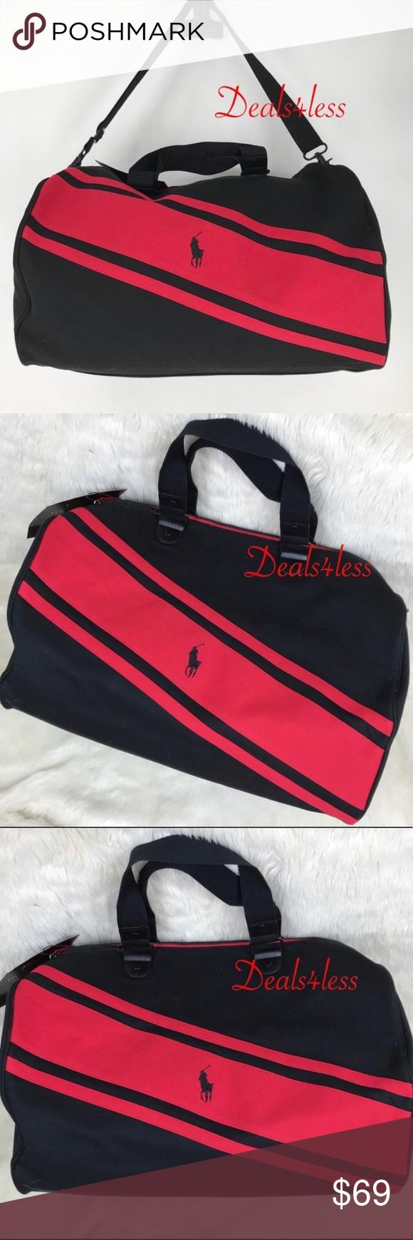 Polo Ralph Lauren Duffel Bag Weekender Travel Nwt Duffel Duffel Bag Ralph Lauren Bags