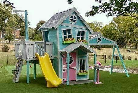 Columpios para ni os casa de madera para ni os casa de juegos para ni as baby time - Columpios para casa ...