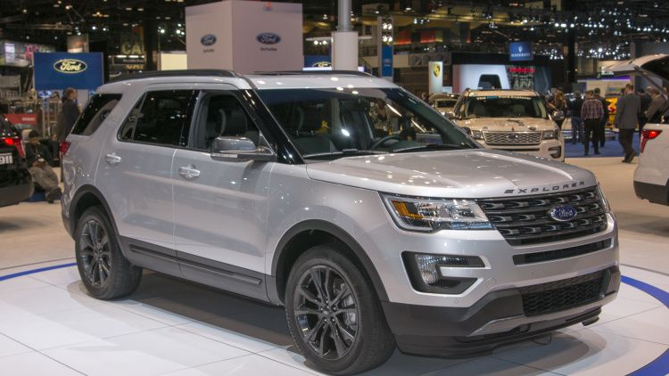 2017 Ford Explorer Xlt Sport Appearance Pack Chicago 2016 Photo