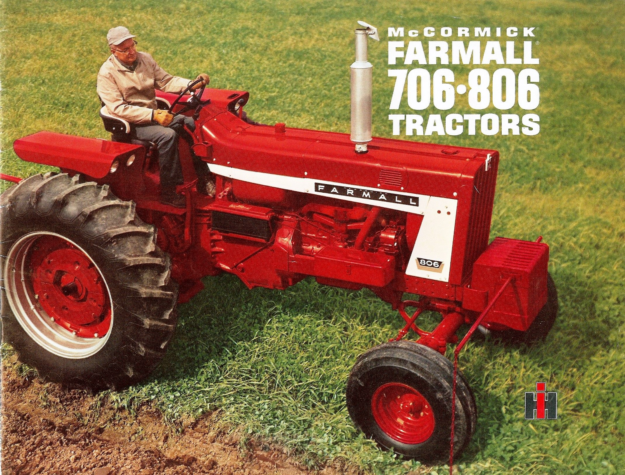hight resolution of farmall 706 806 tractors international harvester advertising set also 806 farmall tractor wiring harness in addition 560 farmall