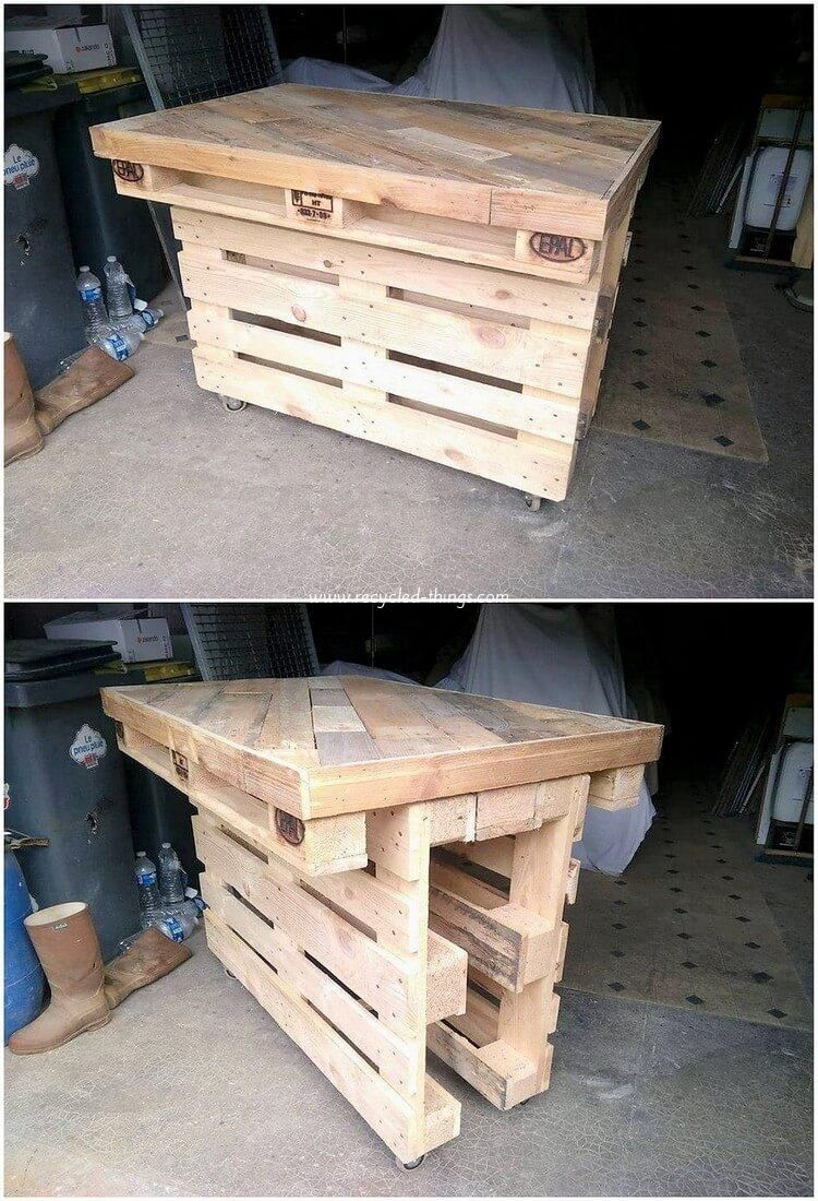 Classic Ideas for Old Wood Pallets Recycling