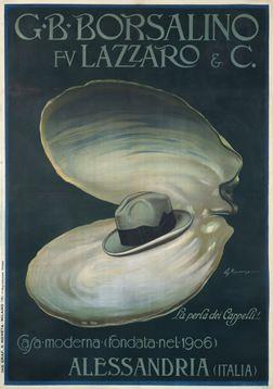 Giuseppe Minonzio poster: G.B. Borsalino