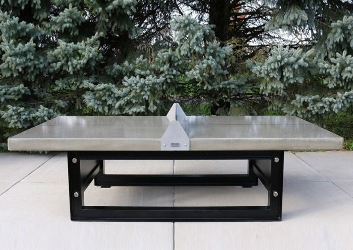Concrete Steel Ping Pong Table Doty Concrete Outdoor Ping Pong Table Ping Pong Table Outdoor Table Tennis Table