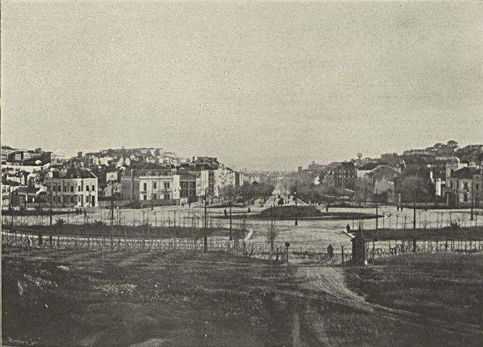 Avenida da Liberdade em 1902