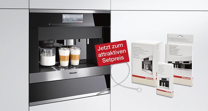 Miele Angebot des Monats Reinigungsset für Kaffeevollautomaten - miele k chen einbauger te