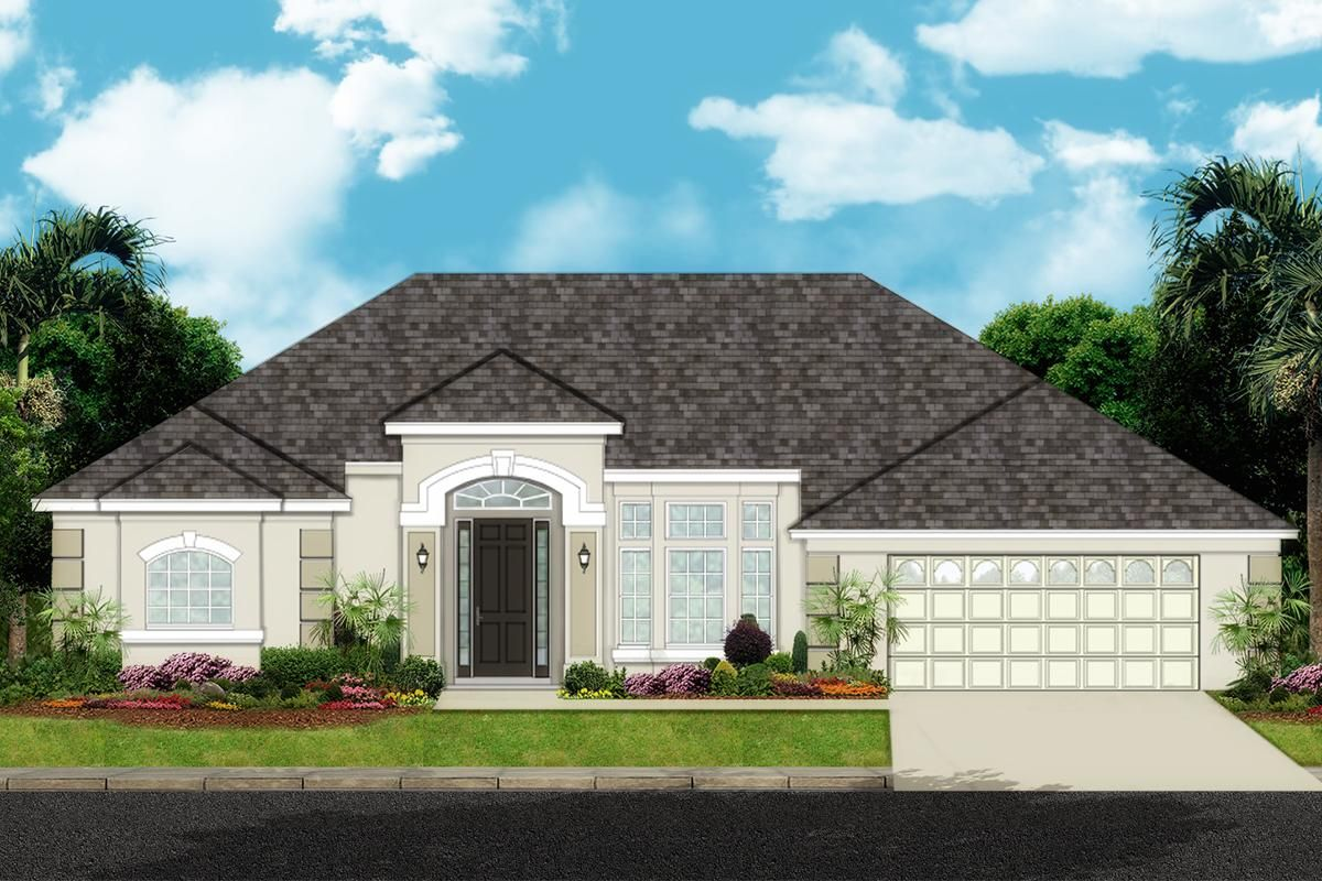 Florida Plan 2654 Square Feet 4 Bedrooms