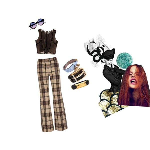 """""""Clash of the Tartans!"""" by andreanicoleperalta on Polyvore"""