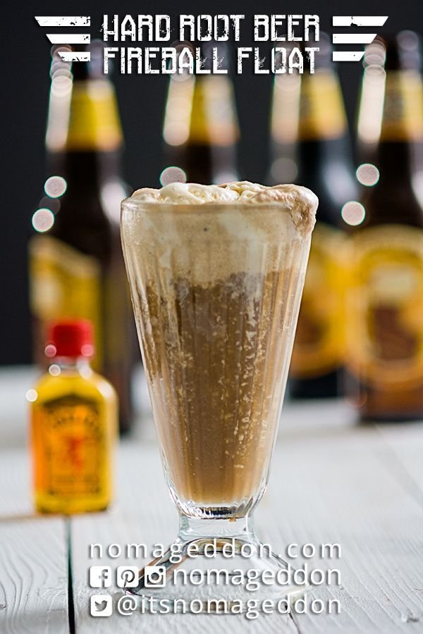 Hard root beer fireball float recipe fireball whiskey root beer hard root beer fireball float forumfinder Image collections