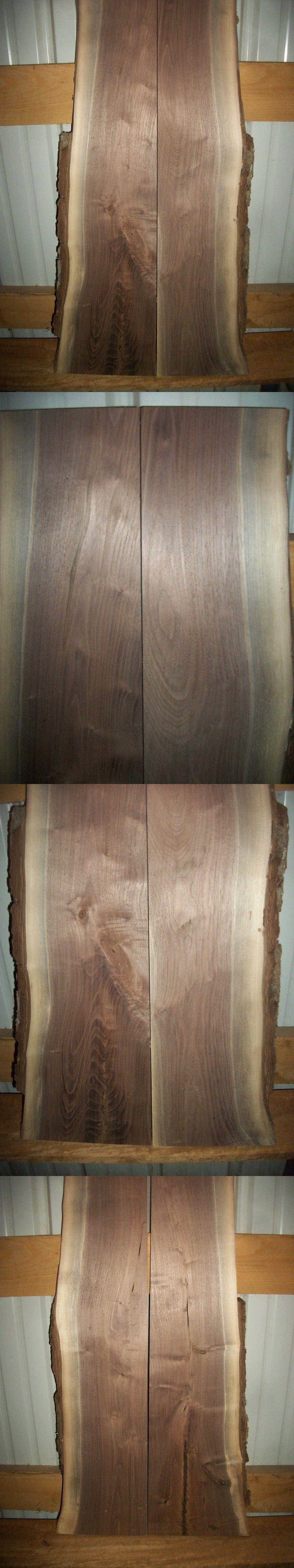 Woodworking Lumber 84011 2 Pc Rustic Walnut Slab Air Dried 4 Years Wood 1