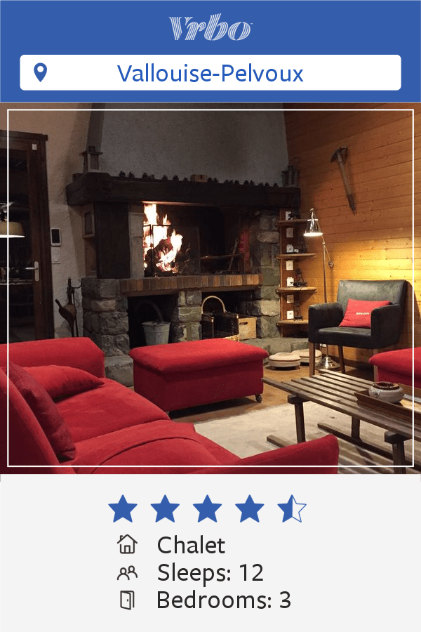 Vacation Chalet in Vallouise-Pelvoux