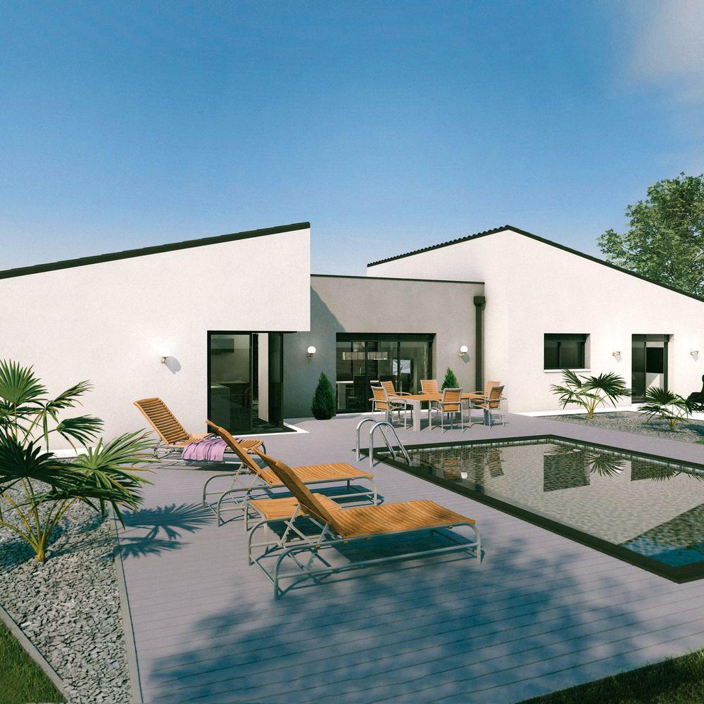 Construire Sa Maison En Bois: Un Vaste Plain-pied Original