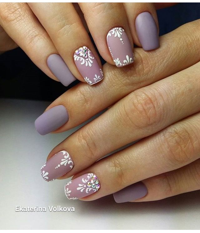 Pin by Carolina Santos on unhas | Pinterest | Square oval nails ...
