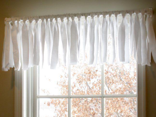 DIY Easy No Sew Window Valance (Pottery Barn Inspired ...