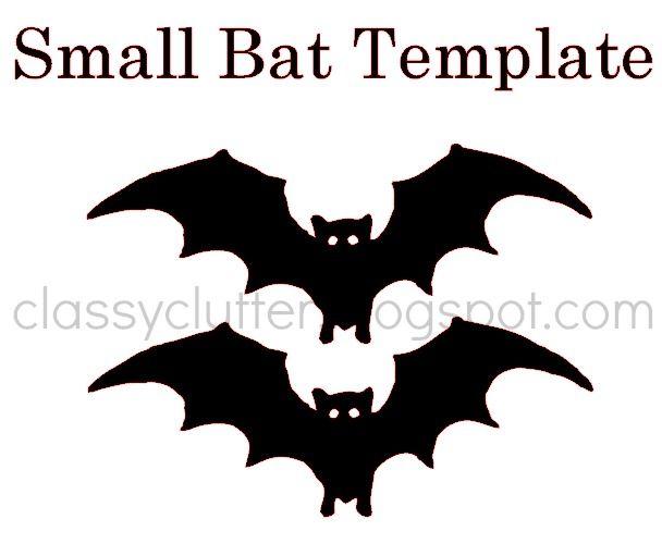 DIY Bat Garland for your Halloween party Bat template, Bats and - bat template