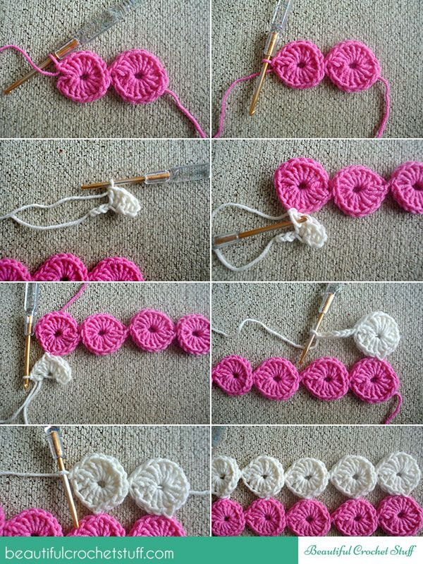 BeautifulCrochetStuff: Crochet Circles - Free join-as-you-go pattern ...