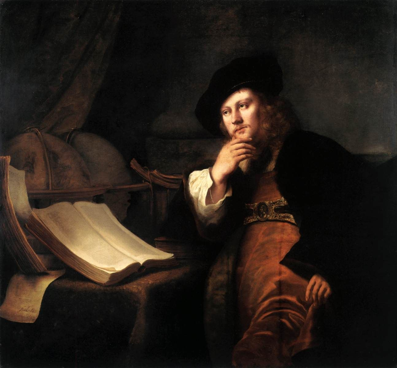 A scholar at his desk 1652 ferdinand bol dutch 1616 1680 a scholar at his desk 1652 ferdinand bol dutch 1616 1680 stopboris