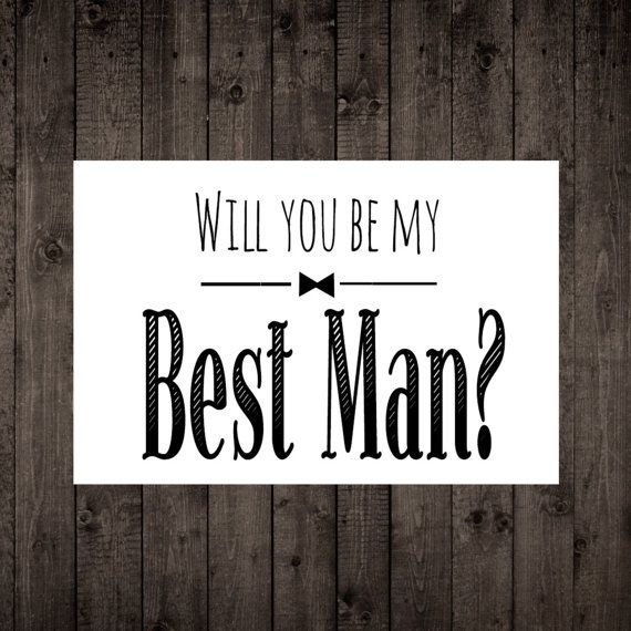 Ask Best Man Best Man Invitation Will You Be My Best Man Gift Will You BE My  BEST MAN Card Will You Be My Best Man Best Man Box