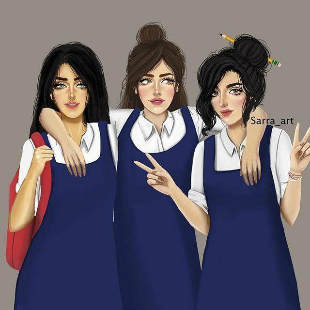 Nor Syafiqah Best Friend Drawings Girly M Girly Art