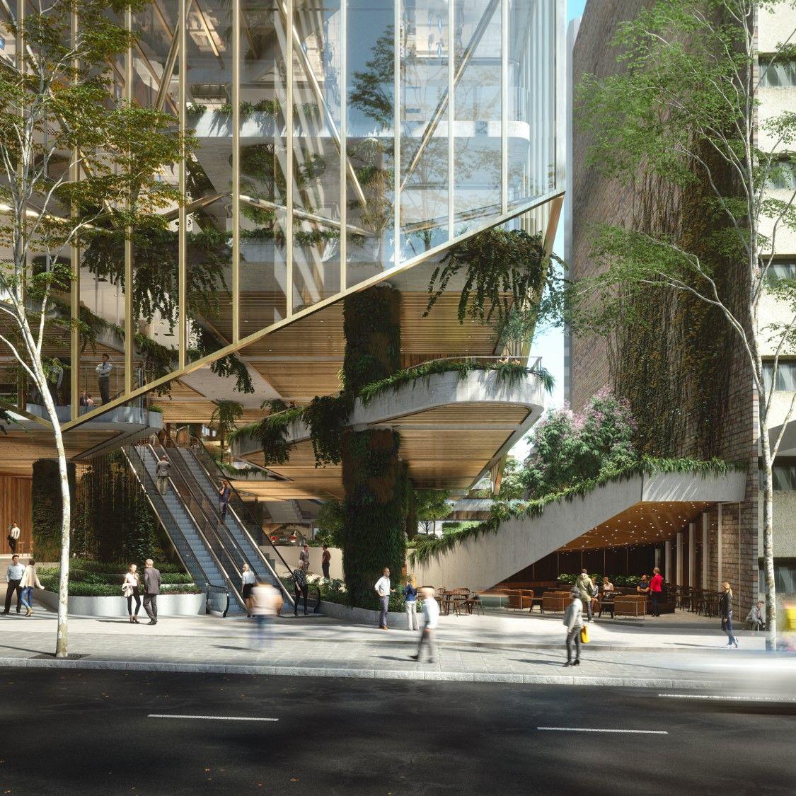 80 Modern Farmhouse Staircase Decor Ideas 64: Suncorp Selects 80 Ann Street As New Headquarters