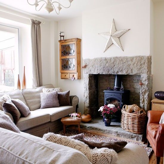 Living room Victorian Yorkshire cottage House tour PHOTO