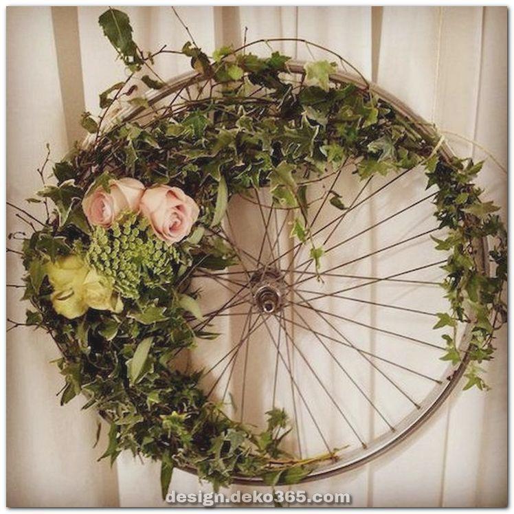 Fantastische schöne Frühlingsgirlanden Dekoration Ideen und Entwurf #adventkransen