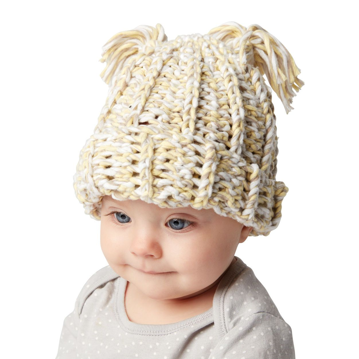 Bernat Crochet Baby Hat | Baby shower gifts and ideas | Pinterest ...