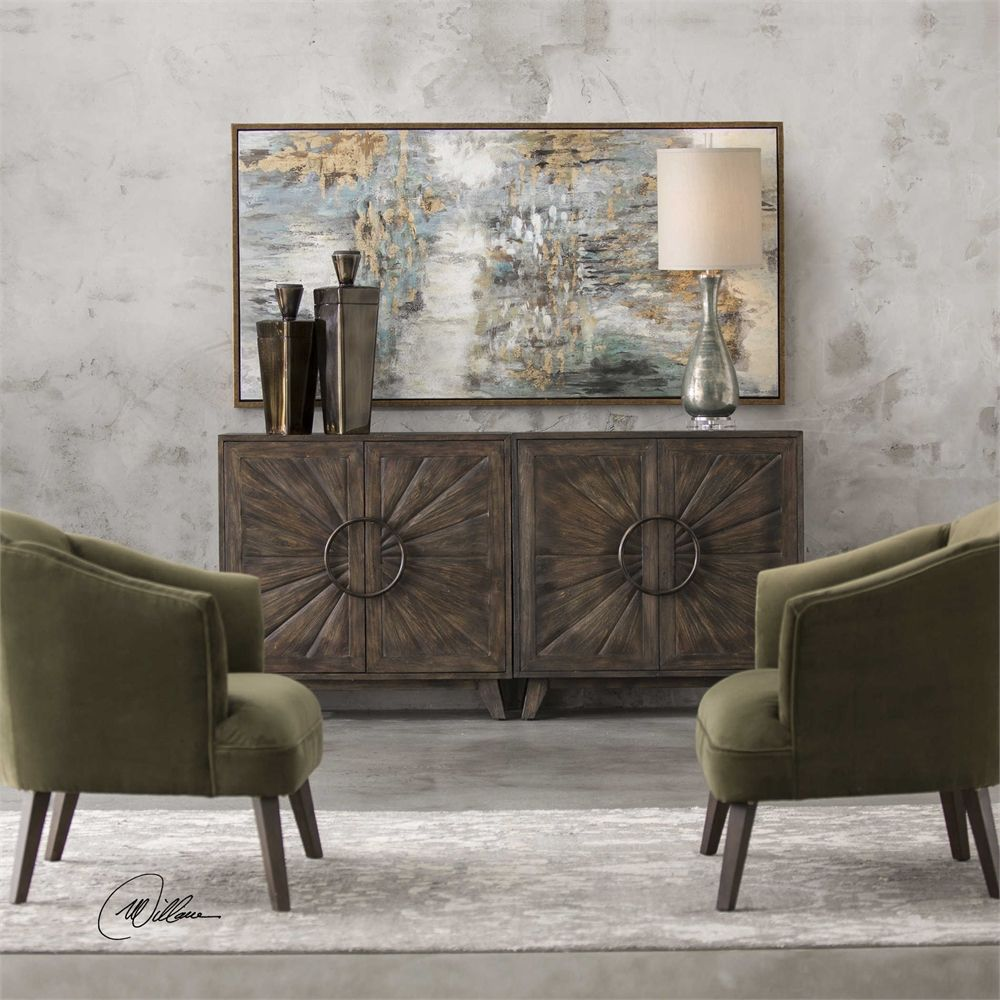 Uttermost Kohana Black Console Cabinet 340 For 1 Get Two Side By