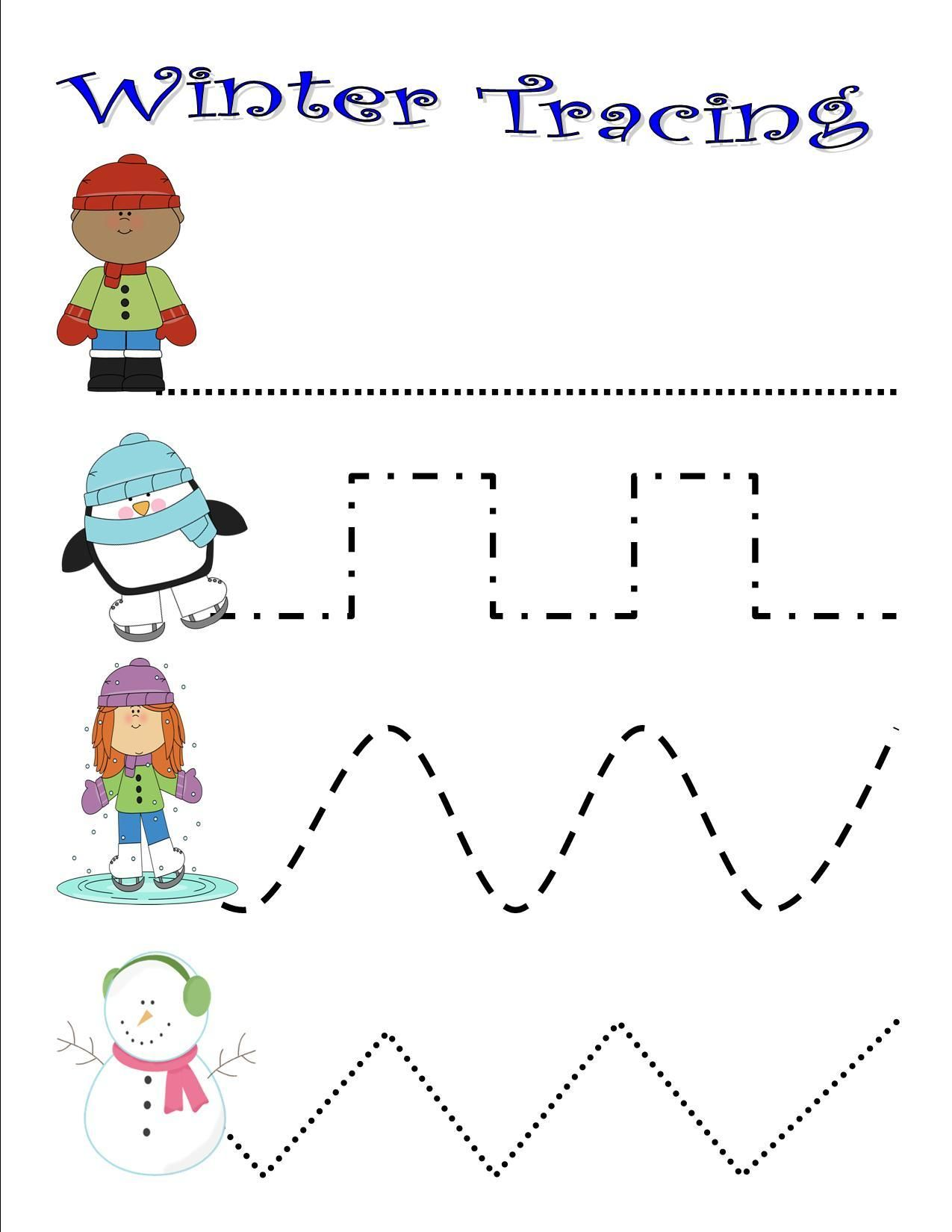 Preschool Winter Activities And Printables