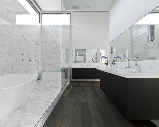 Peachy Wood Floor Marble Walls Google Search Bathroom Ideas In Download Free Architecture Designs Lukepmadebymaigaardcom